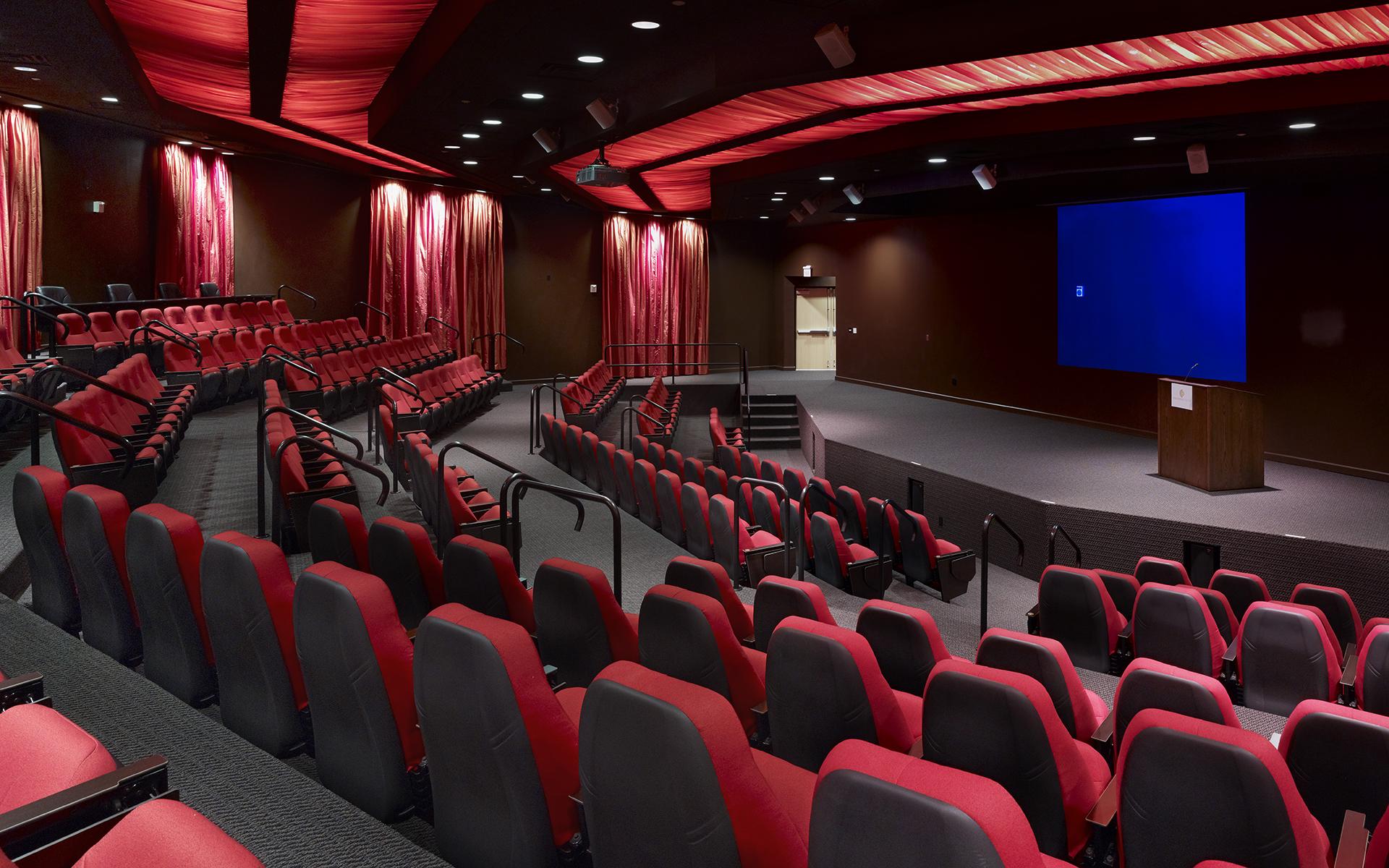 audio/visual equipment - Oquendo Campus Auditorium