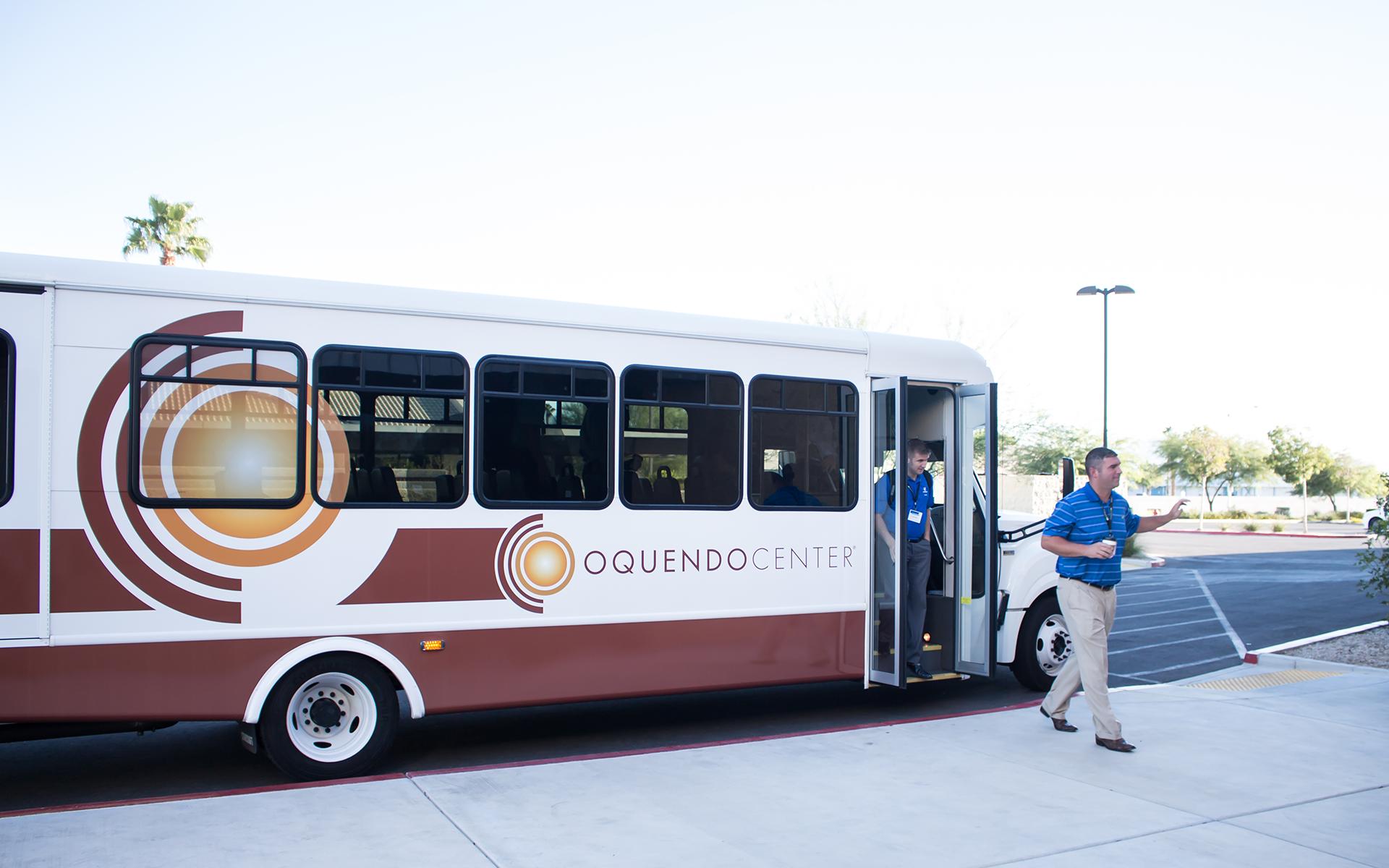 Viticus Center Transportation - shuttle bus