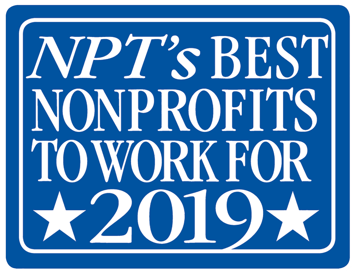 NPT's Best NonProfitsTo WorkFor2019-01