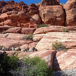 Red rock hiking tour